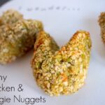 bunny chicken and veggie nuggets