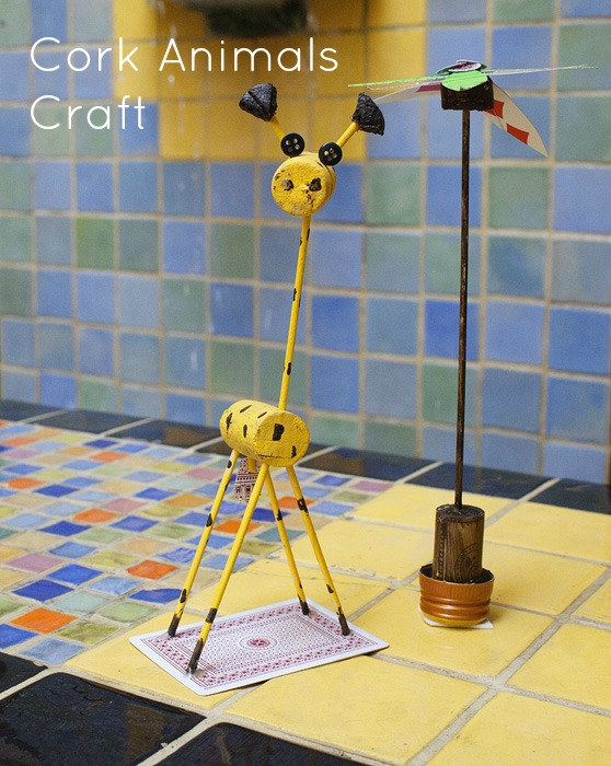 cork animal craft