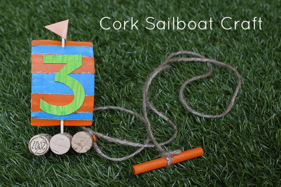 cork sailboat craft idea