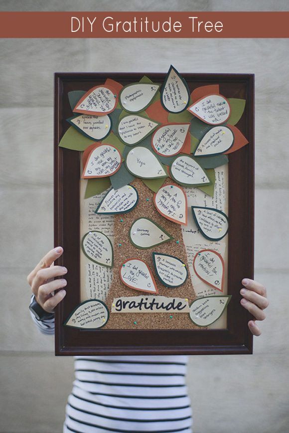 diy gratitude tree thanksgiving craft