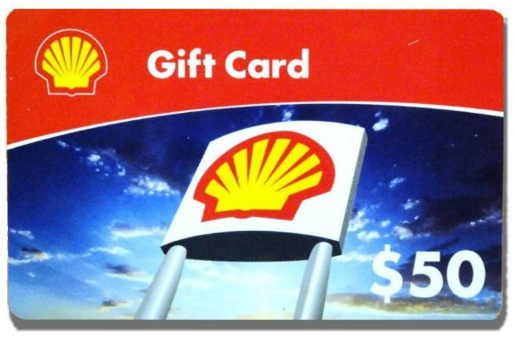 shell gas card