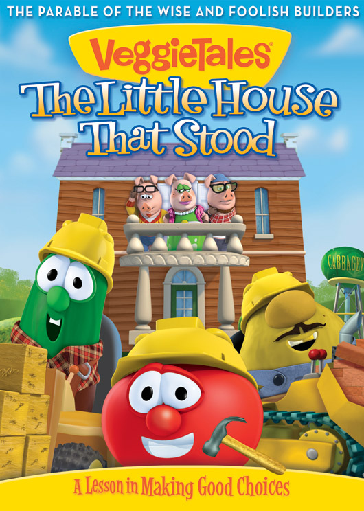 the little house that stood veggietales