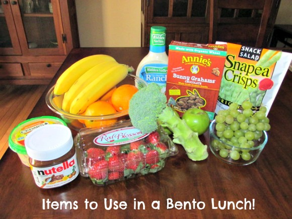 items to use in a bento school lunch