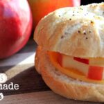 Apple Wheels and Homemade Bagels Recipe