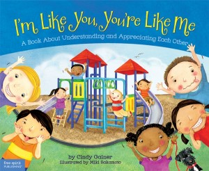 I'm Like You, You're Like Me book for kids about diversity