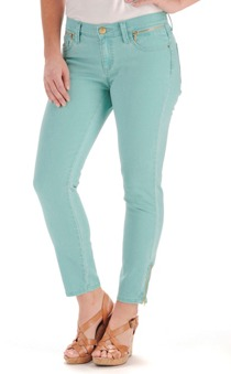 lee crop capri