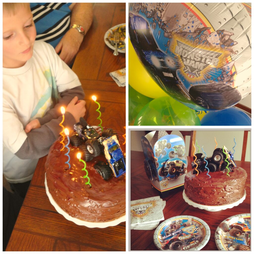 monster jam 3d birthday express