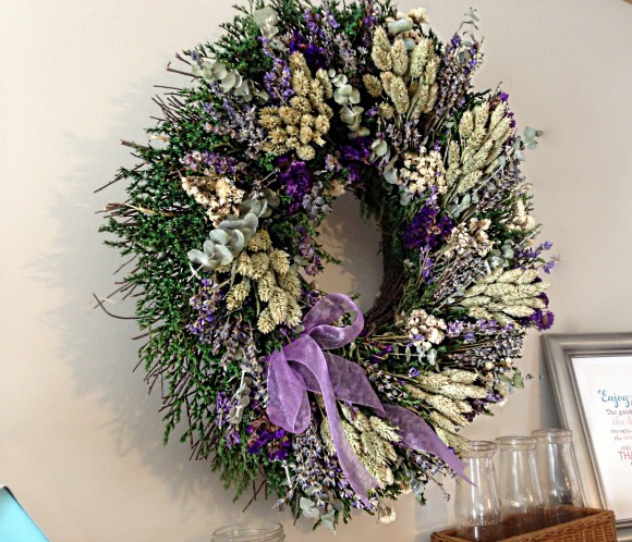 Christmas in july with balsam hill coupon code lavender wreath