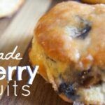 homemade bo-berry biscuits