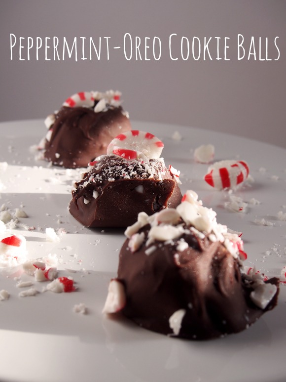Peppermint-OREO Cookie Balls Recipe