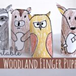 Free Printable Woodland Animal Finger Puppets