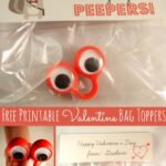 Free Printable Valentine Bag Toppers + Frank Sinatra