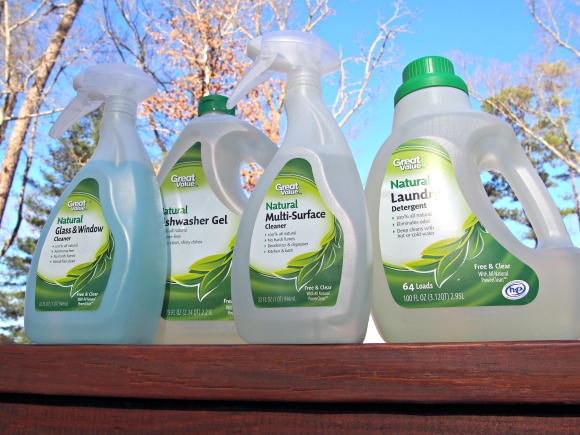 Great Value Natural Cleaners from Walmart