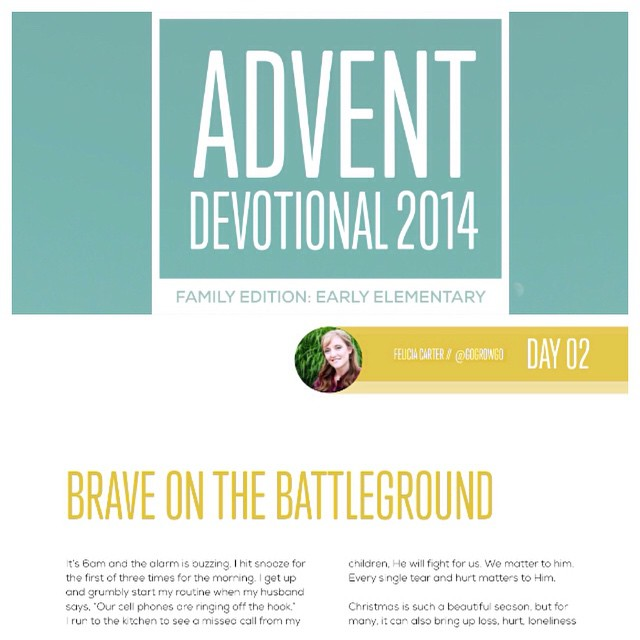 Free 2014 Advent Devotional Download