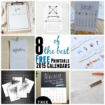 8 of the Best Free Printable 2015 Calendars