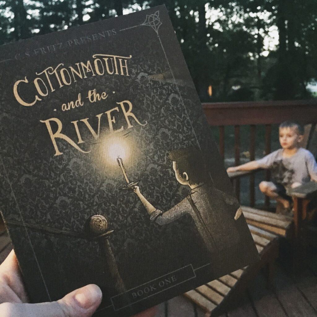 Cottonmouth and the river