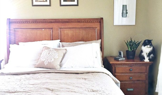 Create a Light and Airy Bedroom on a Budget + 15% off Designer Living