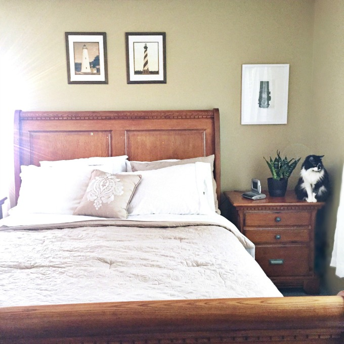 Create a Light and Airy Bedroom on a Budget!