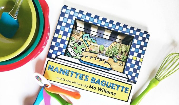 Nanette's Baguette by Mo Willems + Giveaway