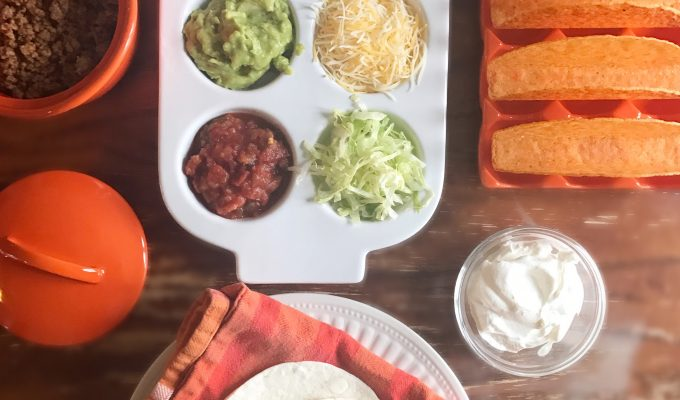 Taco Seasoning Recipe + National Crunchy Taco Day + Cascade Party Pack Giveaway