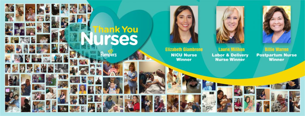 Pampers Thank You Nurses Winners