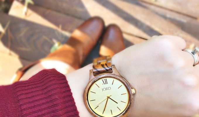 Fall Wardrobe Essentials + JORD Wood Watch GIVEAWAY!